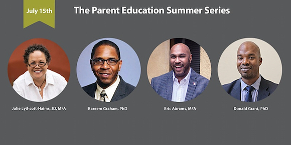 Talking to Your Kids About Race: A (Virtual) Conversation takes place July 15