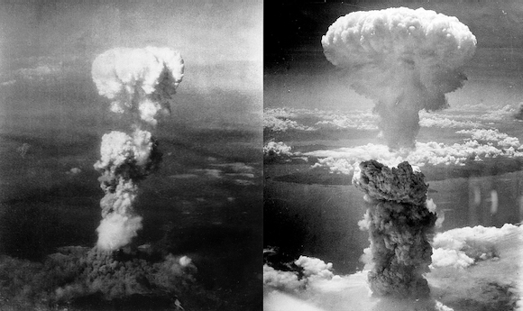 Two films offered during August to commemorate 1945 atomic bomb attacks on Hiroshima and Nagasaki