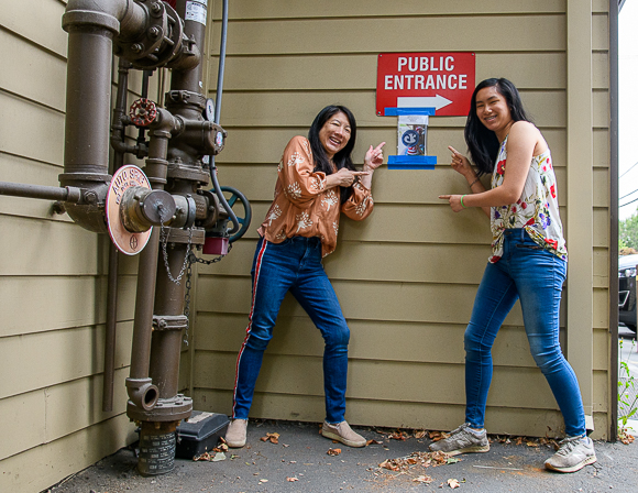 Scavenger hunts organized by mother and daughter provide some fun in pandemic times