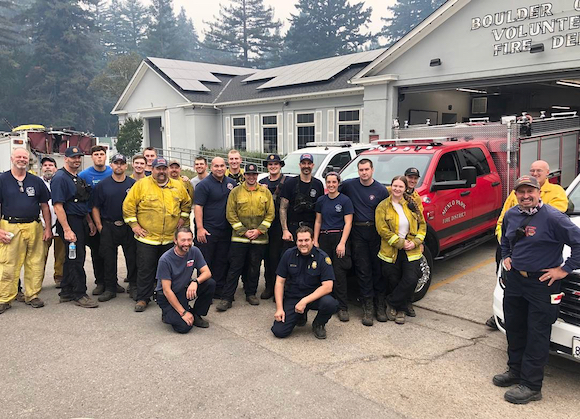 Menlo Fire active in variety of ways at multiple wildfire sites in San Mateo and Santa Cruz counties