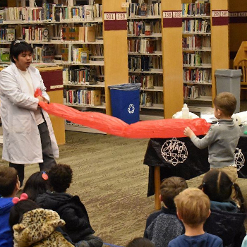 Mad Science: Movie Special Effects is library offering for kids on Aug. 12