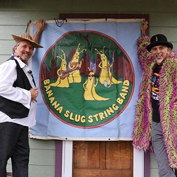 Banana Slug String Band performs – and talks dirt – on August 18
