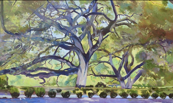 Artist Jim Caldwell presents free slide show about the beauty of trees