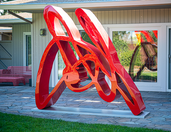Save the date for the first Silicon Valley Sculpture Fair in September at Menlo College
