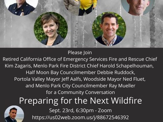 Preparing for the Next Wildfire is topic on September 23