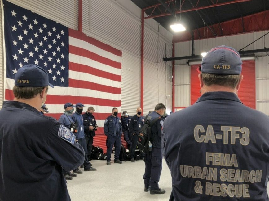 Bay Area Urban Search and Rescue Task Force returns to Butte County for the second time in two years