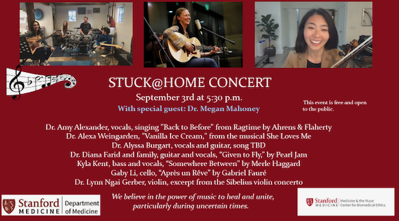 Stuck@Home concert series resumes on September 3
