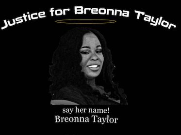 Rally and march for Breonna Taylor in Menlo Park on September 25