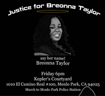 Breonna Taylor march poster