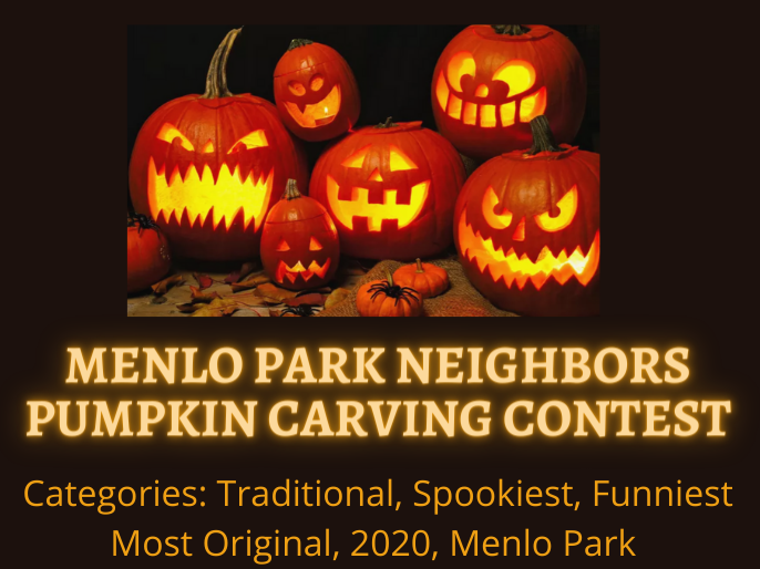 How to enter the Menlo Park Neighbors Pumpkin Carving Contest