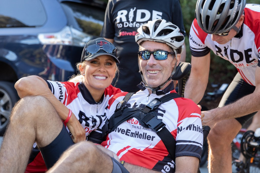 #GiveEmHeller team turns out for local fundraising ride to find a cure for ALS