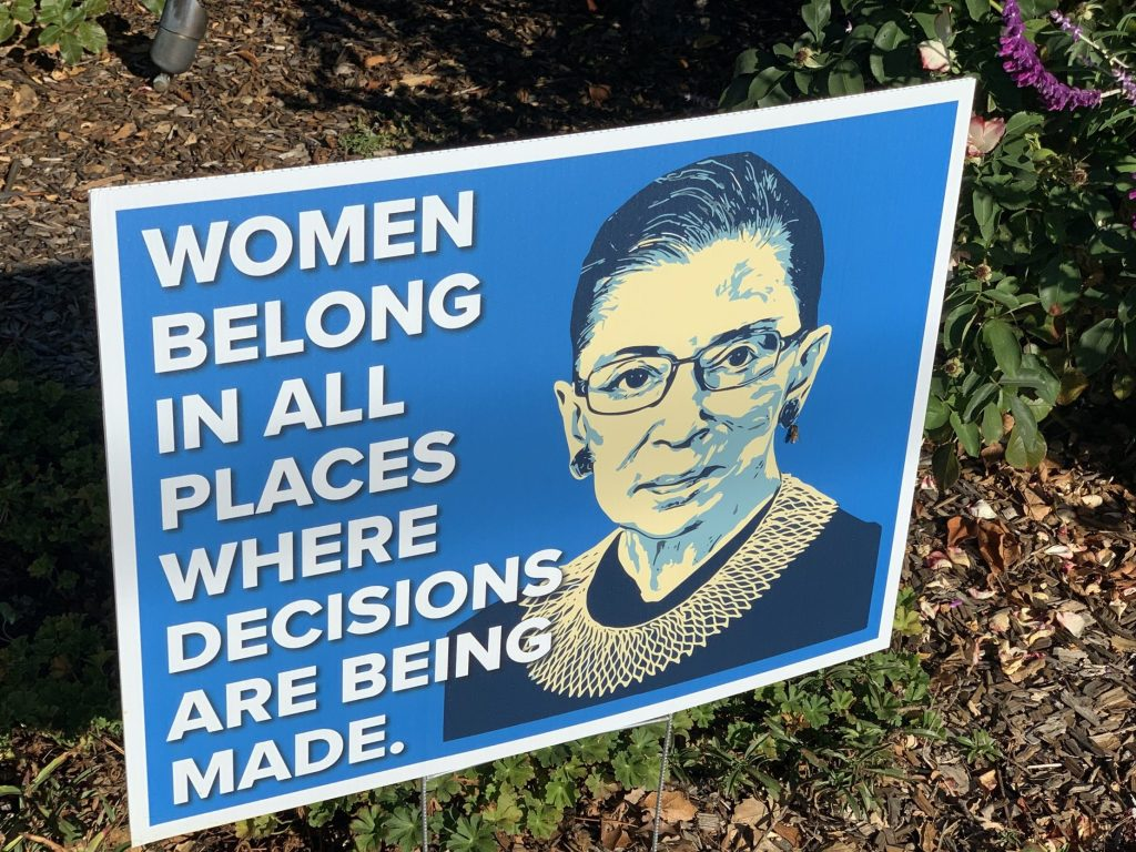 Spotted: Signs-of-the-times: RBG quote