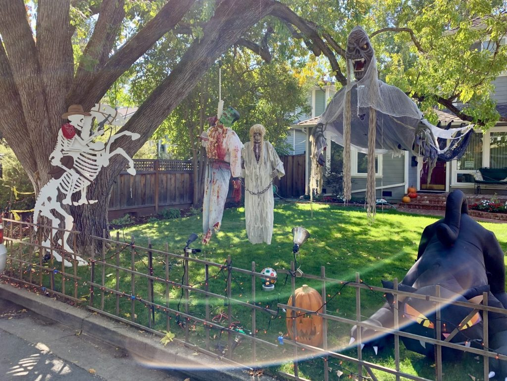 No show at Sherman Avenue Halloween house this year