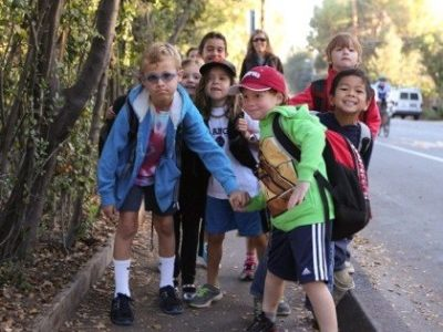 Take part in International Walk to School Week – October 5-9