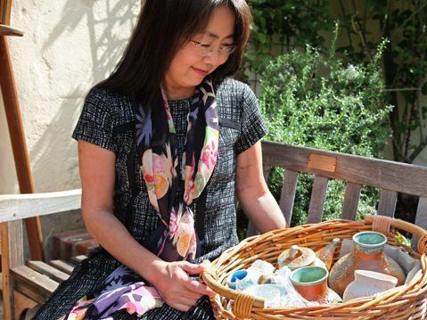 Ceramic artist Misako Kambe is featured in October at Portola Art Gallery