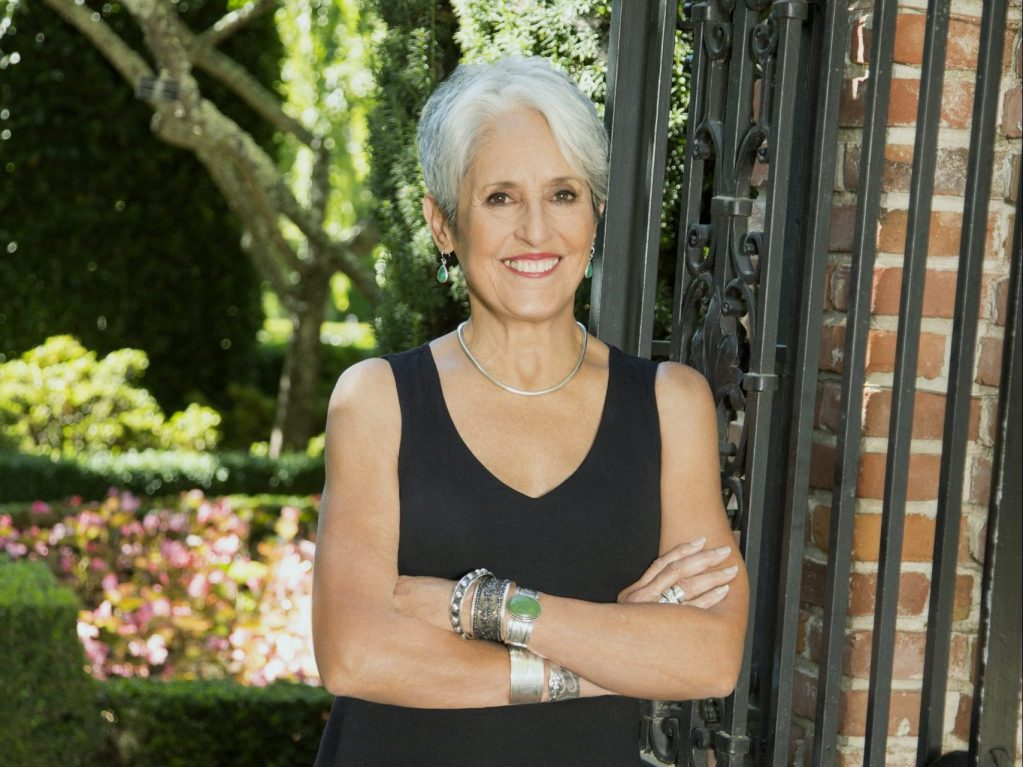 UNAFF goes virtual – and honors Joan Baez with its Visionary Award