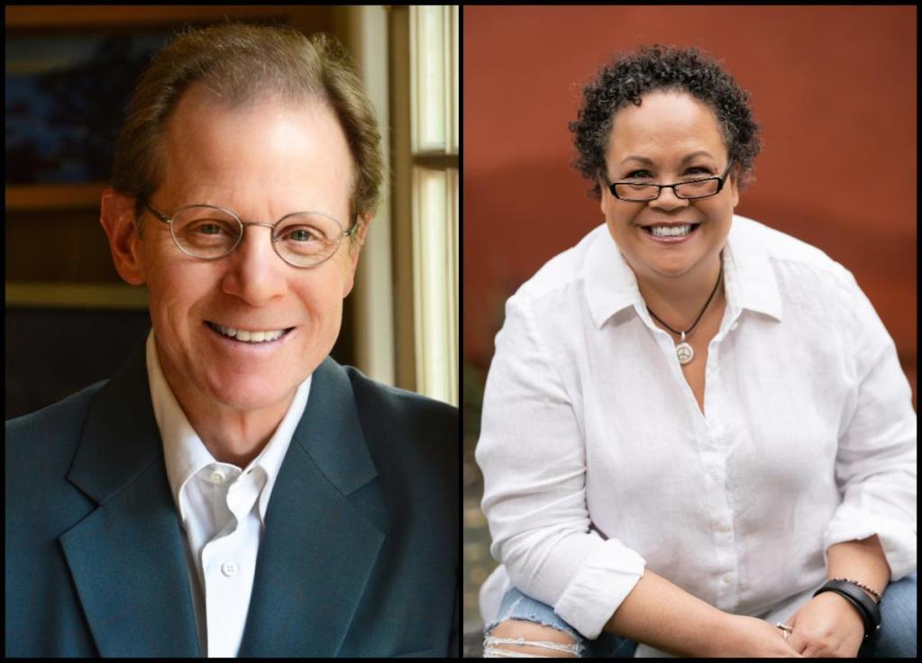 Daniel J. Siegel and Julie Lythcott-Haims appear jointly at Kepler's on October 28