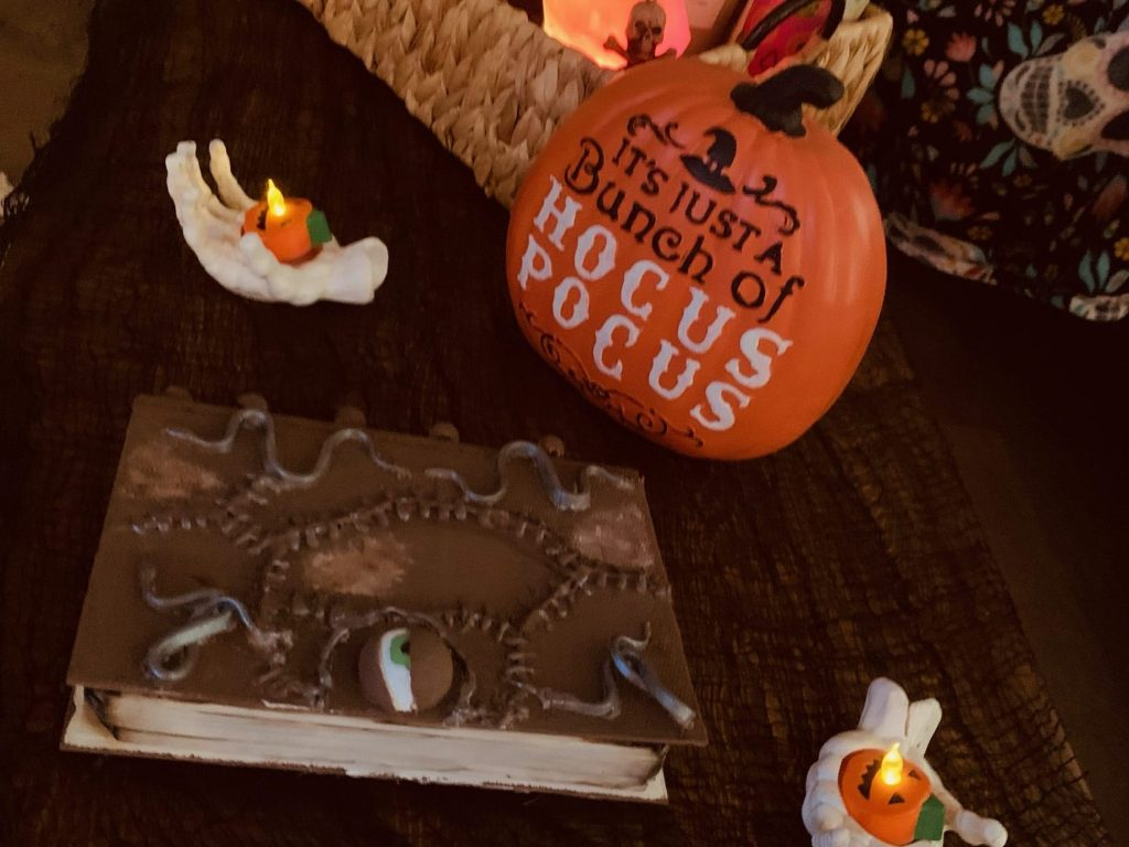 Local teen crafts Hocus Pocus books just in time for Halloween