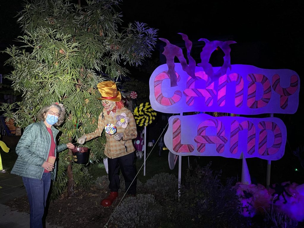 Visit a spooky NO Candy Land in Menlo Park – if you dare!