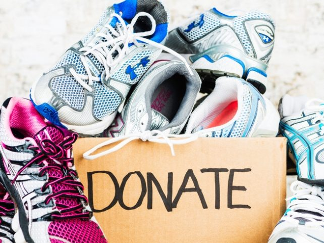 Annual Holiday Day Shoe Drive has begun
