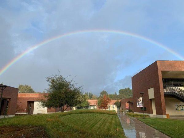 Latest rain is sprinkled with rainbows