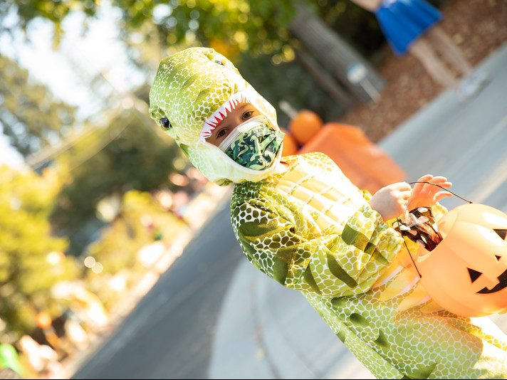 Lots of imagination in evidence at Ladera's first Halloween parade