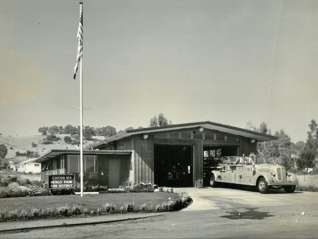Menlo Fire Station number 4 on the Alameda will be rebuilt in 2021