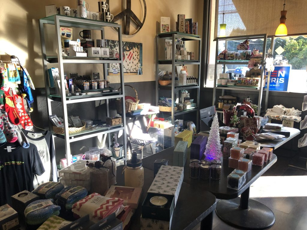 Great assortment of last minute gift items at Cafe Zoë