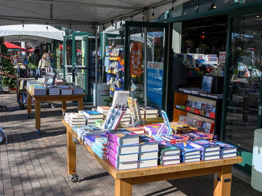 Open-air bookstore opens at Kepler's in Menlo Park today