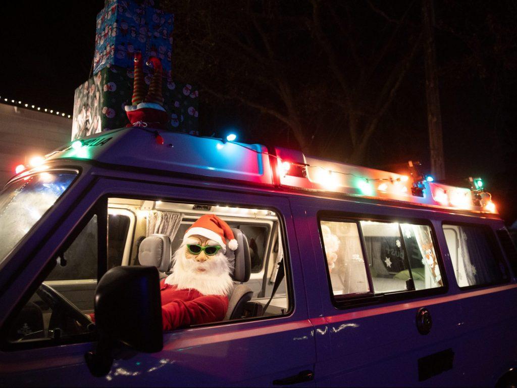 Ladera celebrates the holidays with luminaries