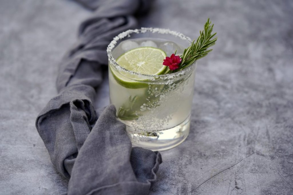 Welcome 2021 with a rosemary-ginger margarita