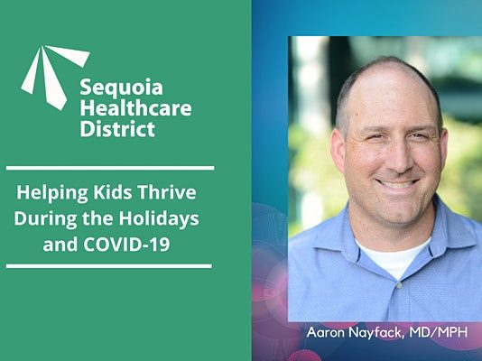 Helping Kids Thrive During the Holidays and COVID-19 is topic on Dec. 15