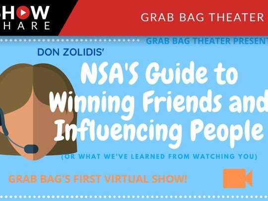 Grab Bag Theater goes virtual December 5th and 6th