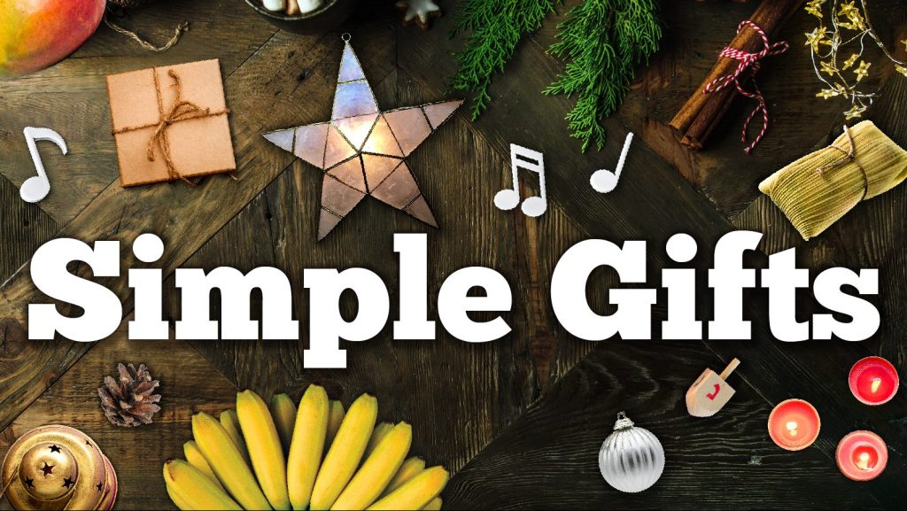 Small donation yields Simple Gifts from TheatreWorks starting December 10