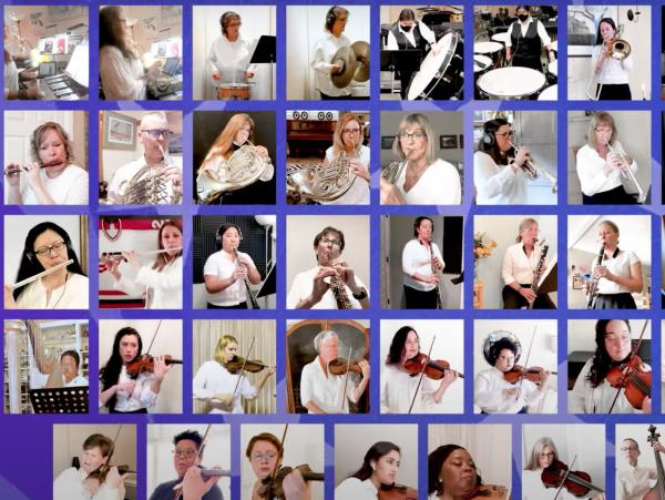 Three Menlo Park women are part of virtual orchestra honoring V.P.-elect Kamala Harris