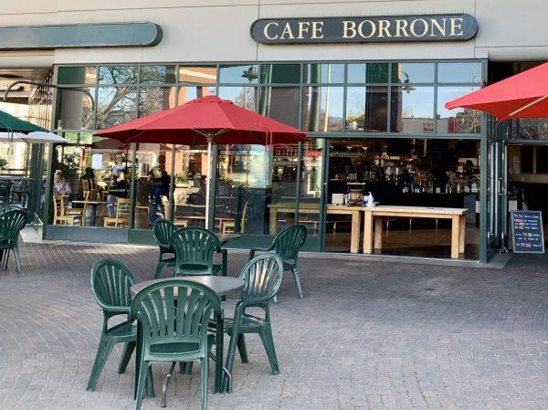 Cafe Borrone re-opens in Menlo Park