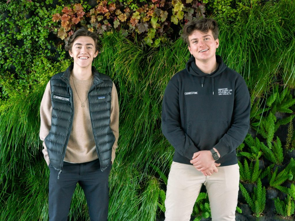 Local teens develop Grindstone app to expand job opportunities for high school students