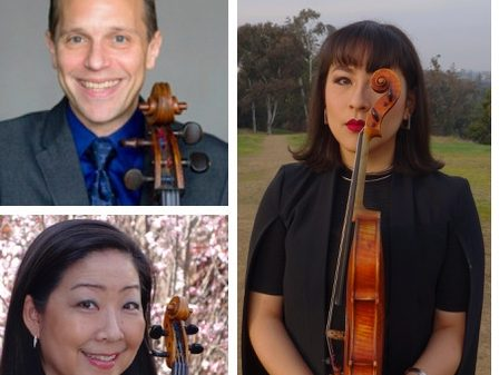 Costanza-Fong Family String Trio appears at Woodside's First Friday on March 5