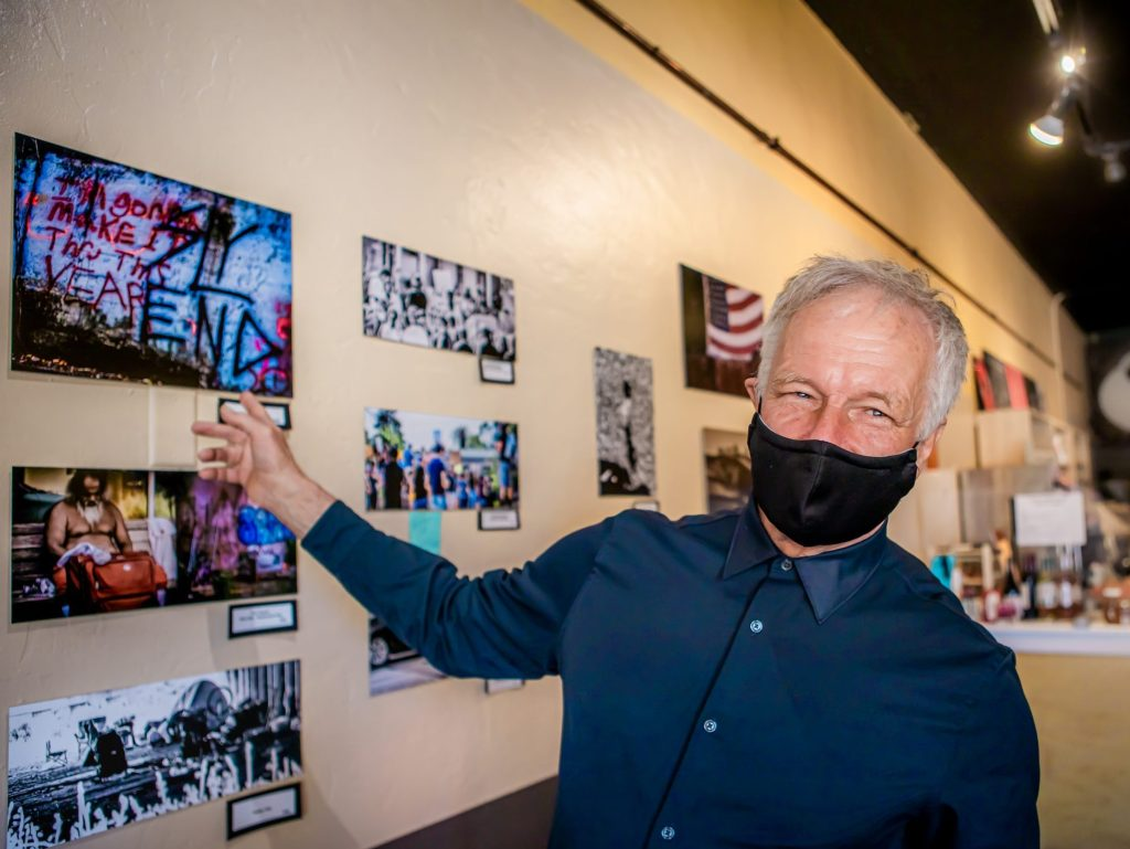Photographer Bruce Spencer captures kindness over fear and inspires a contest