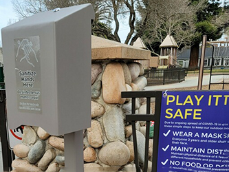 Hand sanitizer and hydration stations added to Menlo Park parks and facilities