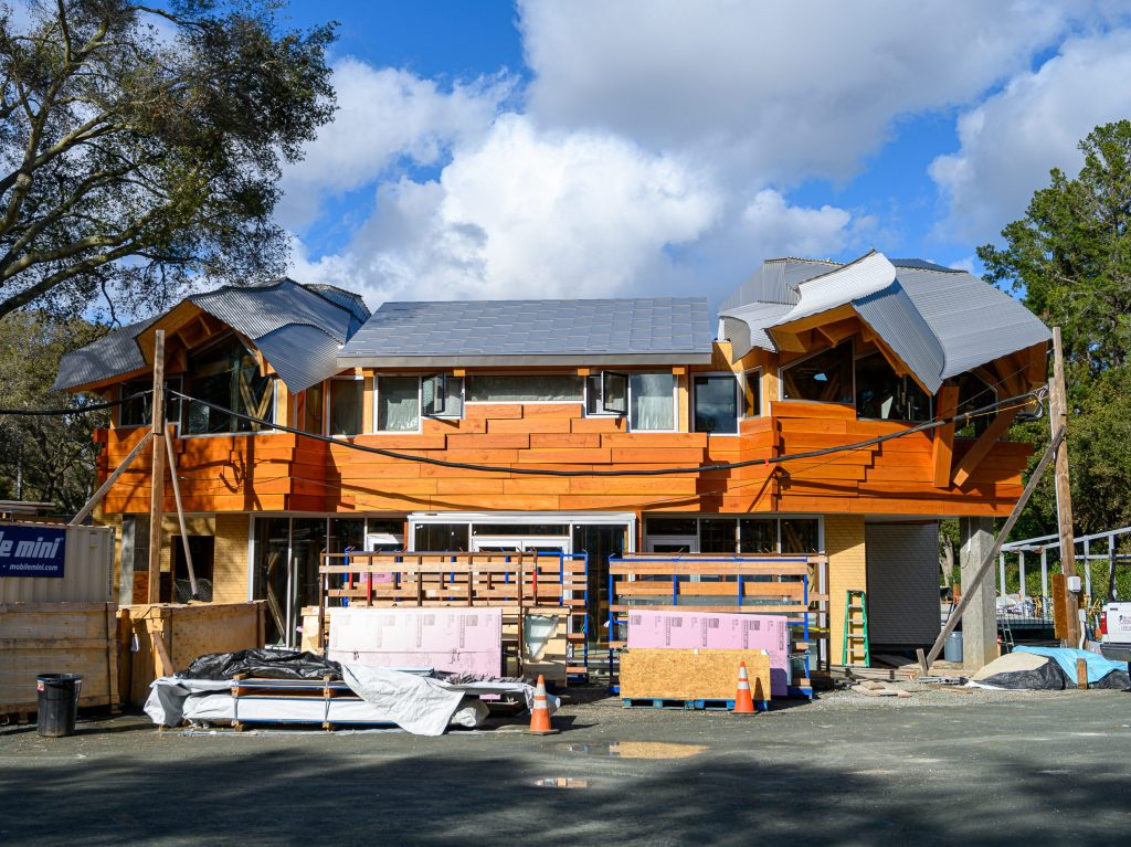Frank Gehry designed house taking shape in Atherton
