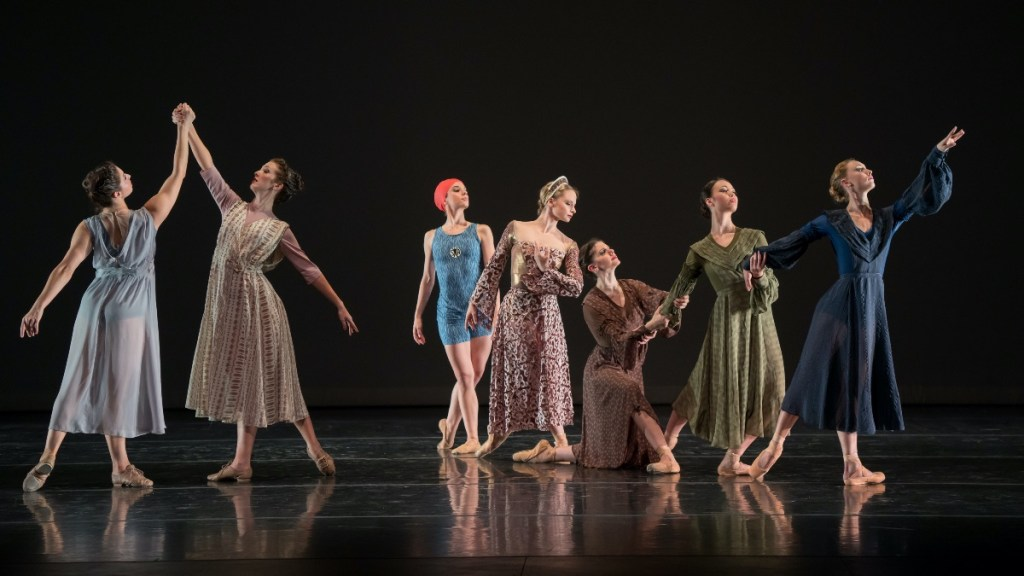 Menlowe Ballet offers free video performance of Portraits in honor of International Women's Day