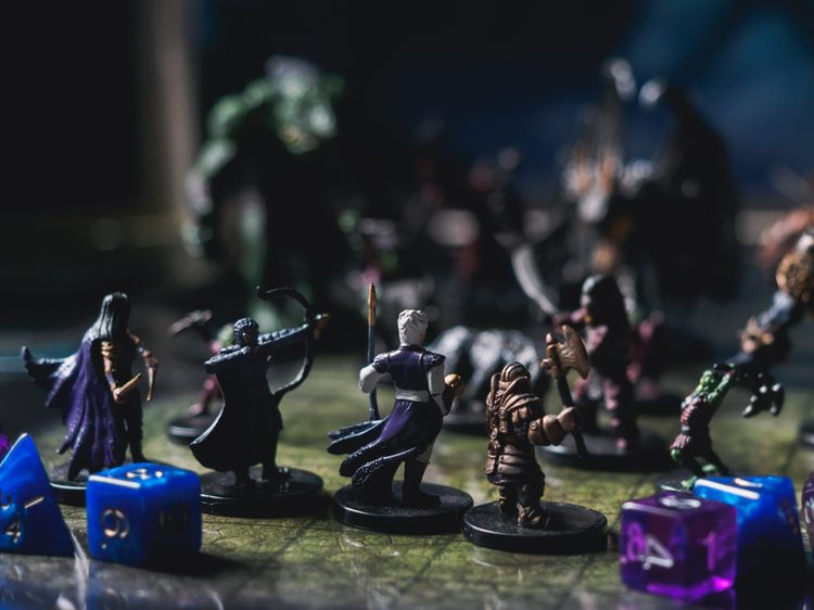 Dungeons and Dragons Meetup for teens on March 10