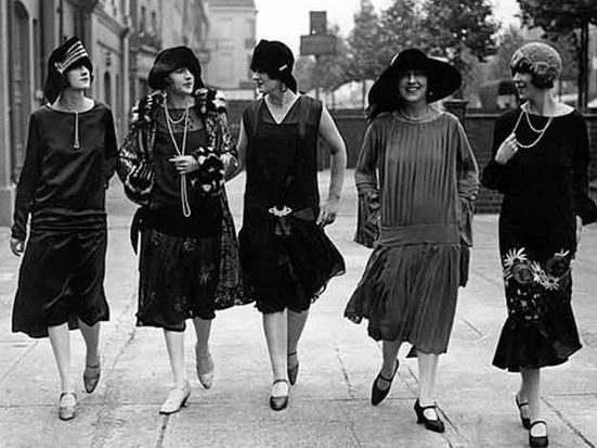 Women's History month topic is Flapper Culture on March 27