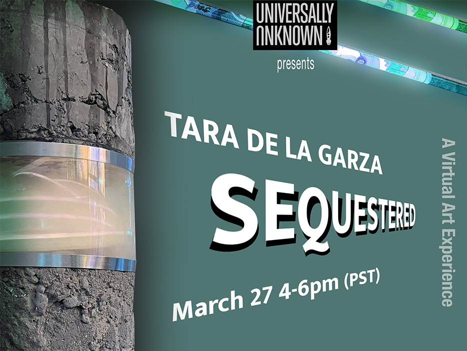 Artist Tara de la Garza hosts exhibit opening virtually on March 27