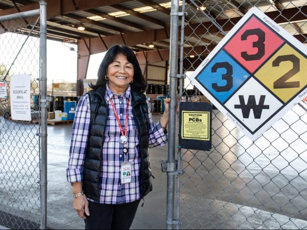 A day in the life of a chemical and waste manager at SLAC – meet Yoli Pilastro