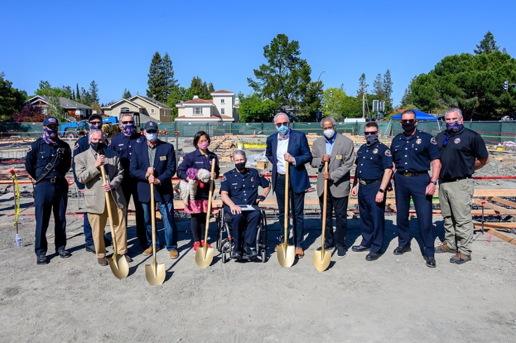 Menlo Fire breaks ground for new station No. 4 on the Alameda