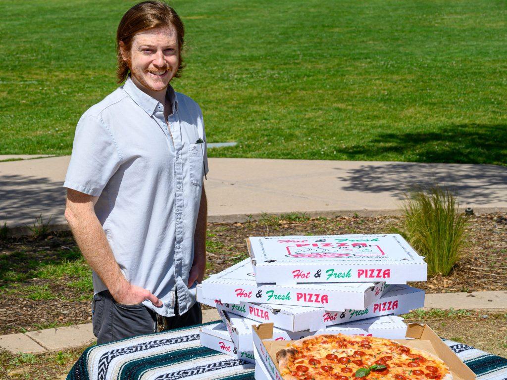 Matt Burr is your neighborhood pizza guy