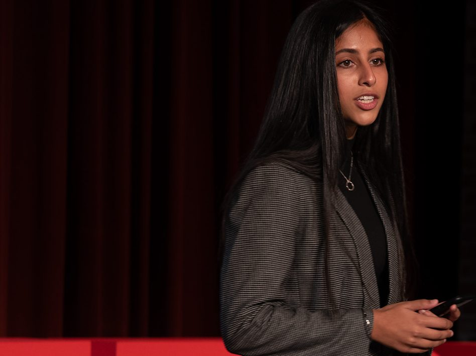 TEDX talk unlocks opportunities for Sacred Heart Prep student