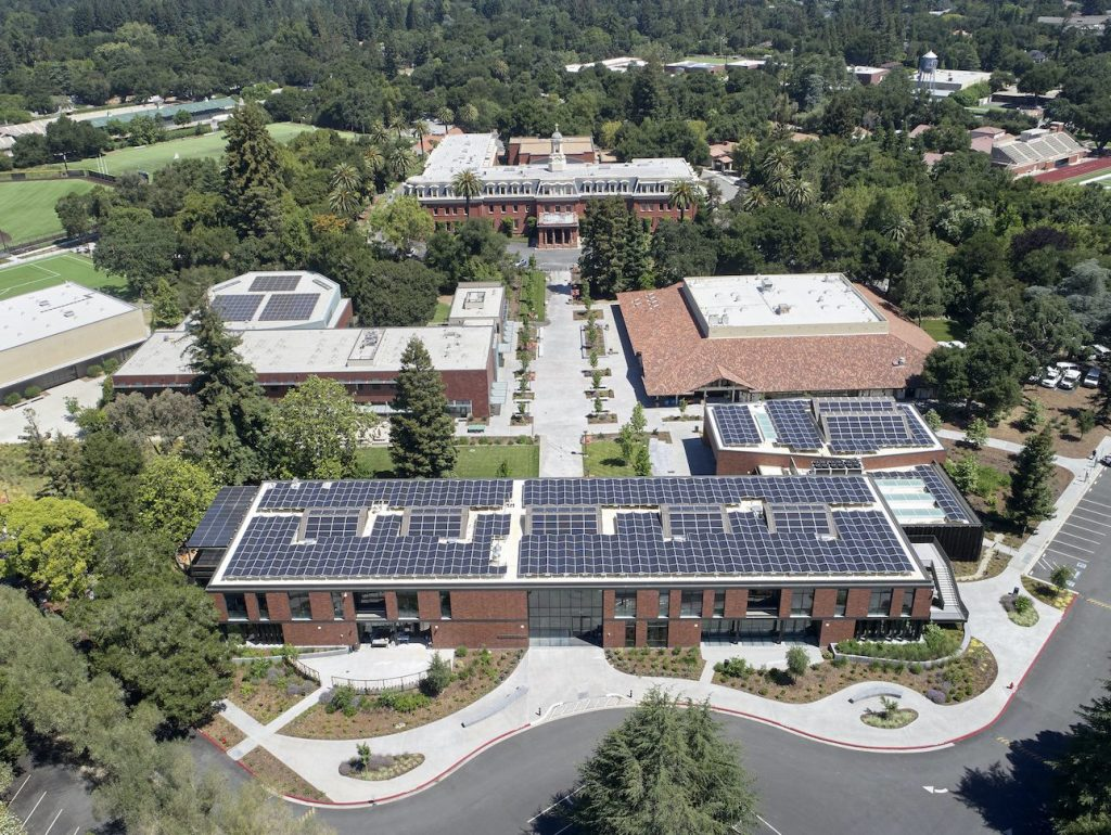 William V. Campbell Center on Sacred Heart Prep campus receives sustainability awards